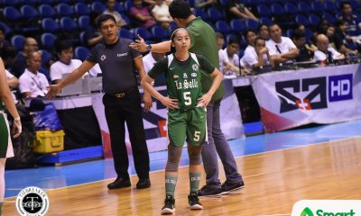 Tiebreaker Times Cholo Villanueva gives Camille Claro high praise: 'The best point guard in the UAAP now' Basketball DLSU News UAAP  UAAP Season 81 Women's Basketball UAAP Season 81 DLSU Women's Basketball Cholo Villanueva Camille Claro