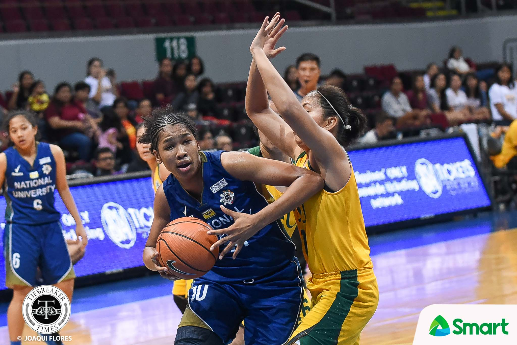 Tiebreaker Times Jack Animam, Rhena Itesi lock down Clare Castro as NU two away from tying record Basketball News NU UAAP UP  Valerie Mamaril UAAP Season 81 Women's Basketball UAAP Season 81 Ria Nabalan Patrick Aquino NU Women's Basketball Kaye Pingol Jack Animam FEU Women's Basketball fatima quiapo Bert Flores
