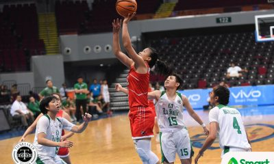 Tiebreaker Times UE arrests three-game skid, stuns La Salle Basketball DLSU News UAAP UE  UE Women's Basketball UAAP Season 81 Women's Basketball UAAP Season 81 Khate Castillo Joyce Francisco DLSU Women's Basketball Christine Cortizano Cholo Villanueva Camille Claro Anna Requiron Angel Quingco Aileen Lebornio