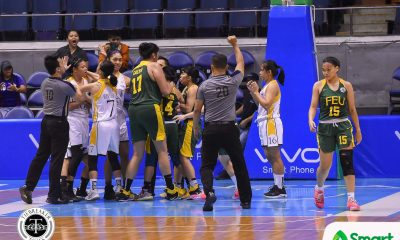 Tiebreaker Times Grace Irebu, Sai Larosa deliver retribution for UST over FEU in tension-filled game Basketball FEU News UAAP UST  Valerie Mamaril UST Women's Basketball UAAP Season 81 Women's Basketball UAAP Season 81 Tantoy Ferrer Sai Larosa Haydee Ong Grace Irebu FEU Women's Basketball fatima quiapo Elaisa Adriano Clare Castro Bert Flores