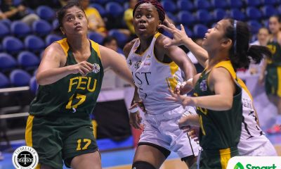 Tiebreaker Times Grace Irebu extra motivated after being named MVP Basketball News UAAP UST  UST Women's Basketball UAAP Season 81 Women's Basketball UAAP Season 81 Haydee Ong Grace Irebu