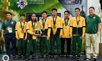 Tiebreaker Times FEU Tamaraws, DLSU Lady Woodpushers begin title defense bids Chess DLSU FEU News NU UAAP  UAAP Season 82 Women's Chess UAAP Season 82 Men's Chess UAAP Season 82 Boys Chess UAAP Season 82 Samantha Revita Romy Fagon Paulo Bersamina NU Girls Chess Mira Mirano Jeth Morado FEU Men's Chess FEU Boys Chess Ella Moulic DLSU Women's Chess Dale Bernardo Arnel Ilagan