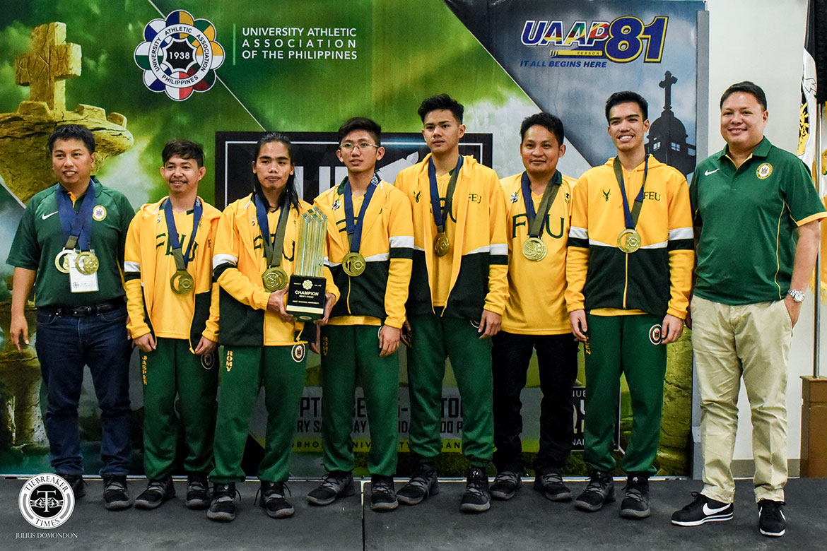 Tiebreaker Times FEU returns to the top in Men's Chess ADMU AdU Chess DLSU FEU News NU UAAP UE UP UST  UST Men's Chess UP Men's Chess UE Men's Chess UAAP Season 81 Men's Chess UAAP Season 81 Romy Fagon Paulo Bersamina NU Men's Chess Khristian Arellano John Marvin Miciano Jeth Morado Jasper Laxamana FEU Men's Chess Fernando Mendoza DLSU Men's Chess Ateneo Men's Chess Arnel Ilagan Adamson Men's Chess
