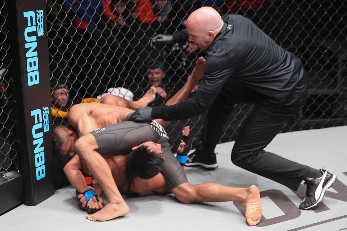 Tiebreaker Times Kevin Belingon looks to continue Team Lakay's rematch streak Mixed Martial Arts News ONE Championship  Team Lkaay ONE: Heart of a Lion Keivn Belingon