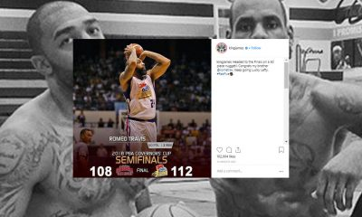 Tiebreaker Times LeBron James after Romeo Travis' 50-point game: 'Keep going Lucky Lefty!' Basketball News PBA  Romeo Travis PBA Season 43 Magnolia Hotshots Lebron James 2018 PBA Governors Cup