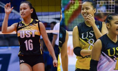 Tiebreaker Times Fire and Fire: Eya Laure, Cherry Rondina looking to forge spirited connection News PSL UST Volleyball  UST Women's Volleyball Eya Laure Cherry Rondina 2018 PSL Season 2018 PSL Collegiate Grand Slam