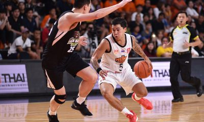 Tiebreaker Times Jason Brickman now ABL's all-time leader in assists ABL Basketball News  Mono Vampire Jason Brickman Froilan Baguion 2018-19 ABL Season
