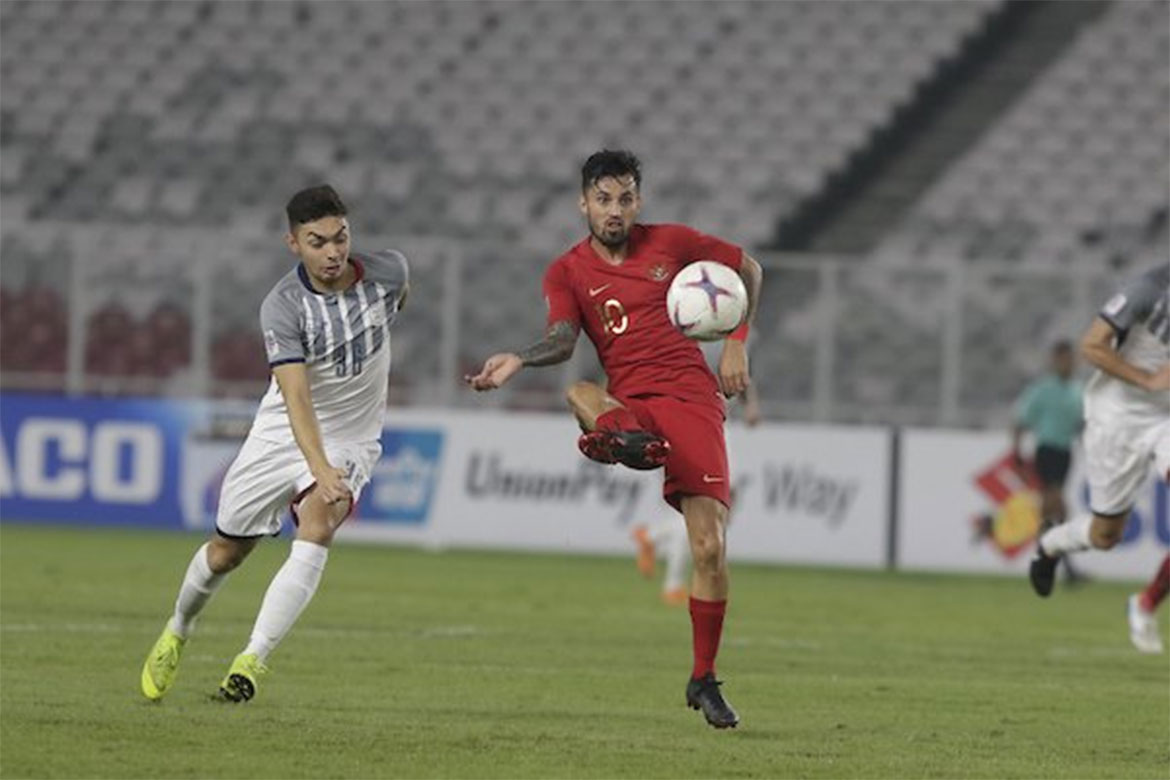 Tiebreaker Times Philippines returns to the semifinals with Indonesia stalemate Football News Philippine Azkals  Sven-Goran Eriksson Michael Falkesgaard Indonesia (Football) 2018 AFF Suzuki Cup