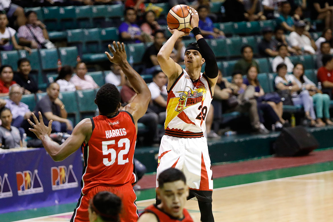 Tiebreaker Times As San Miguel's season ends, Arwind Santos now sets sights on Gilas Basketball News PBA  San Miguel Beermen PBA Season 43 Arwind Santos 2018 PBA Governors Cup