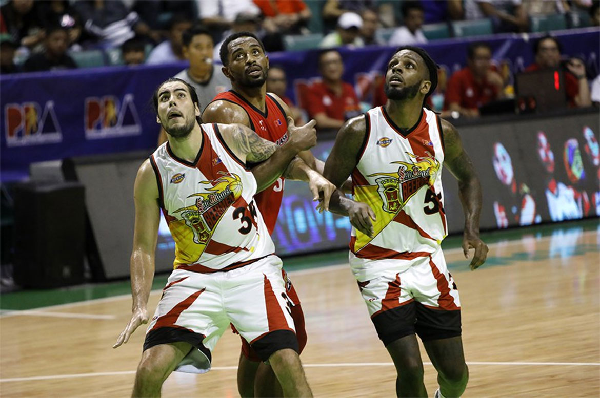 Tiebreaker Times As Gilas calls, Christian Standhardinger sets aside much-deserved break --- again 2019 FIBA World Cup Qualifiers Basketball Gilas Pilipinas News PBA  San Miguel Beermen PBA Season 43 Christian Standhardinger 2019 FIBA World Cup Qualifiers 2018 PBA Governors Cup
