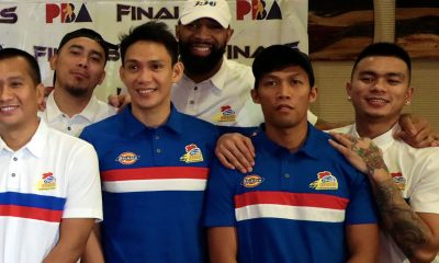 Tiebreaker Times Romeo Travis stoic as he faces good pals from Alaska in Finals Basketball News PBA  Romeo Travis PBA Season 43 Magnolia Hotshots 2018 PBA Governors Cup