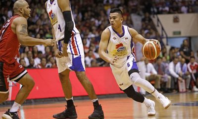 Tiebreaker Times Jio Jalalon bucks foul trouble with big free throws down the stretch Basketball News PBA  PBA Season 43 Magnolia Hotshots Jio Jalalon 2018 PBA Governors Cup