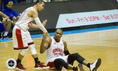 Tiebreaker Times Amid shooting struggles, LA Tenorio still remains clutch Basketball News PBA  PBA Season 43 LA Tenorio Barangay Ginebra San Miguel 2018 PBA Governors Cup