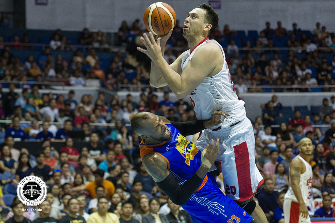 Tiebreaker Times Greg Slaughter all set for playoff grind ahead with 25-point explosion Basketball News PBA  PBA Season 43 Greg Slaughter Barangay Ginebra San Miguel 2018 PBA Governors Cup
