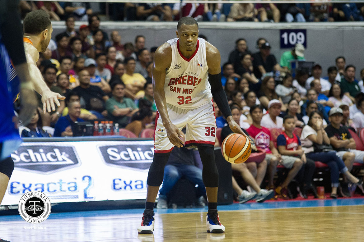 Tiebreaker Times Despite getting top seed, Justin Brownlee knows Ginebra will have their hands full Basketball News PBA  PBA Season 43 Justin Brownlee Barangay Ginebra San Miguel 2018 PBA Governors Cup
