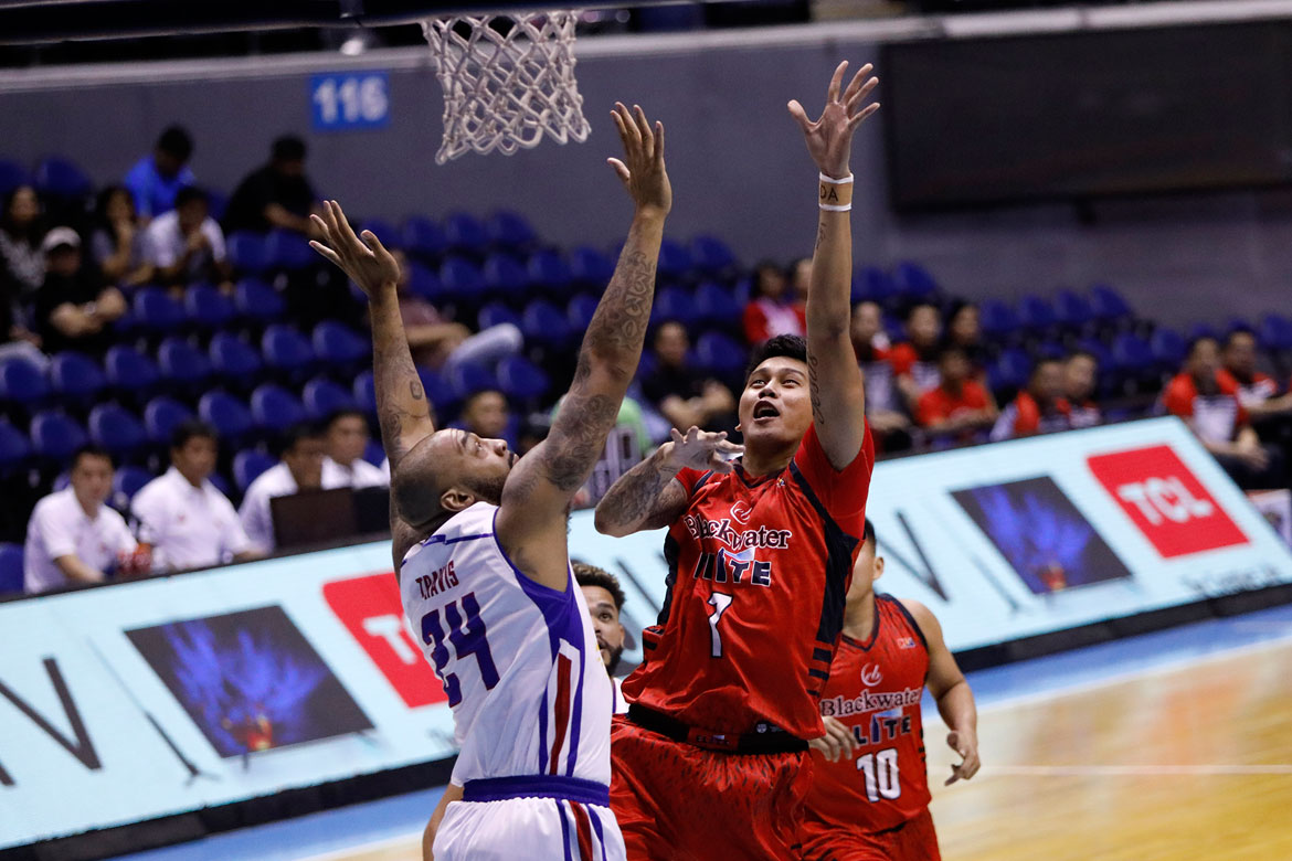 Tiebreaker Times Bittersweet Tuesday for Poy Erram as Blackwater exit coincides with Gilas return Basketball News PBA  PBA Season 43 JP Erram Blackwater Elite 2018 PBA Governors Cup