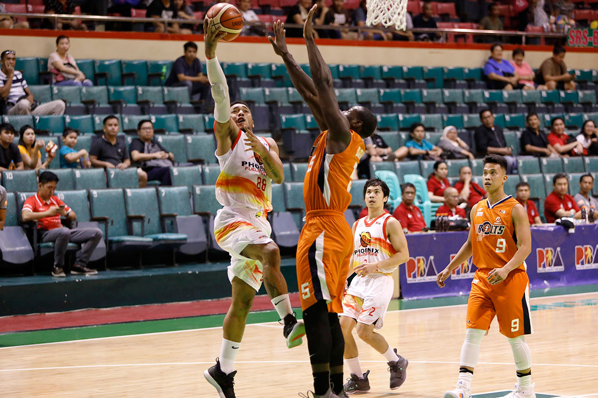 Tiebreaker Times Playoff inexperience got the best of Phoenix against battle-tested Meralco Basketball News PBA  Phoenix Fuel Masters PBA Season 43 Louie Alas 2018 PBA Governors Cup