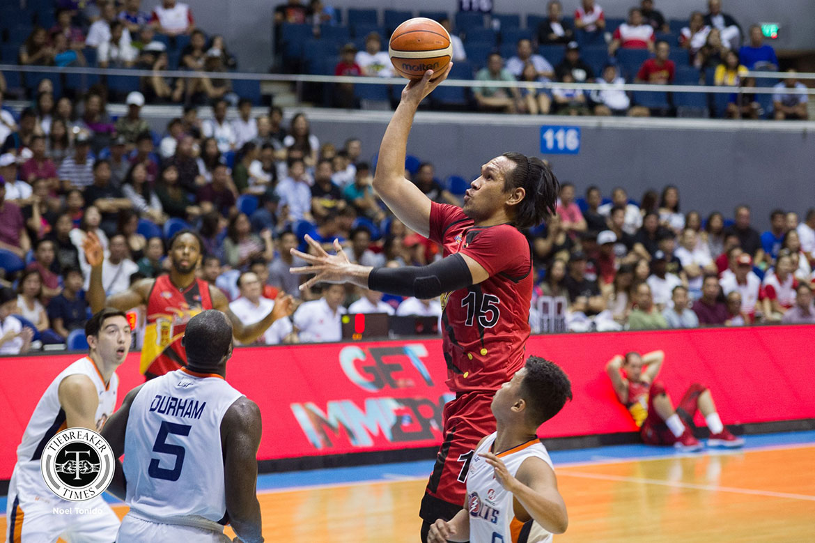 Tiebreaker Times June Mar Fajardo vows to regain rhythm come QF Basketball News PBA  San Miguel Beermen PBA Season 43 June Mar Fajardo 2018 PBA Governors Cup