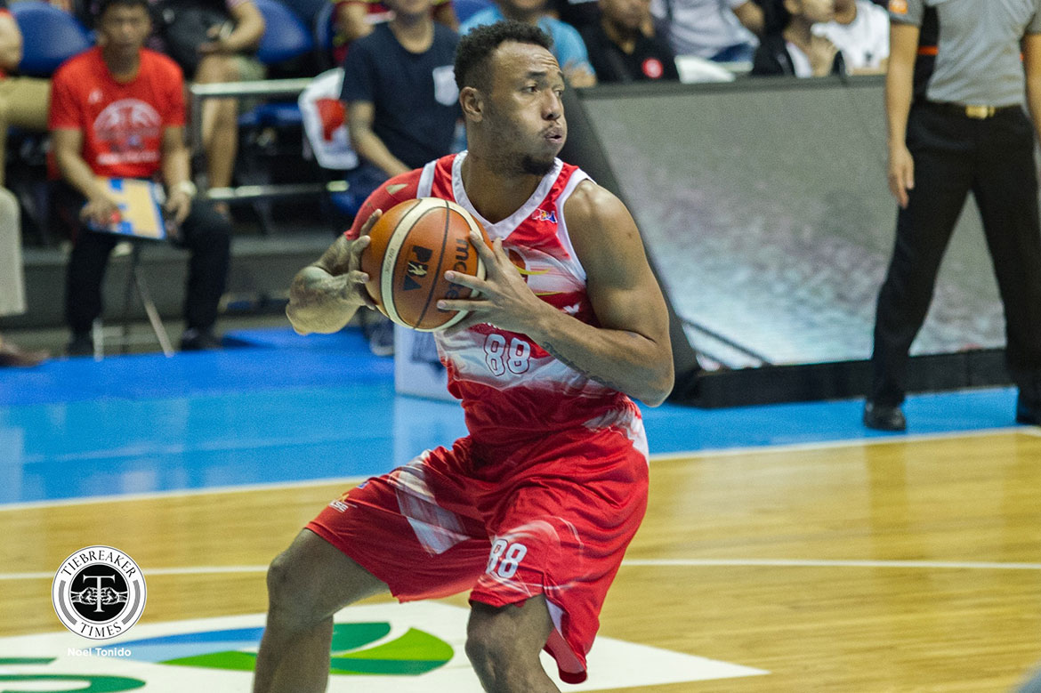 Tiebreaker Times One of Calvin Abueva's dreams comes true as Phoenix earns twice-to-beat Basketball News PBA  Phoenix Fuel Masters PBA Season 43 Calvin Abueva 2018 PBA Governors Cup