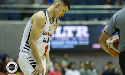 Tiebreaker Times Mike DiGregorio left seething with F2 call; PBA explains Basketball News PBA  Willie Marcial PBA Season 43 Mike DiGregorio Blackwater Elite 2018 PBA Governors Cup