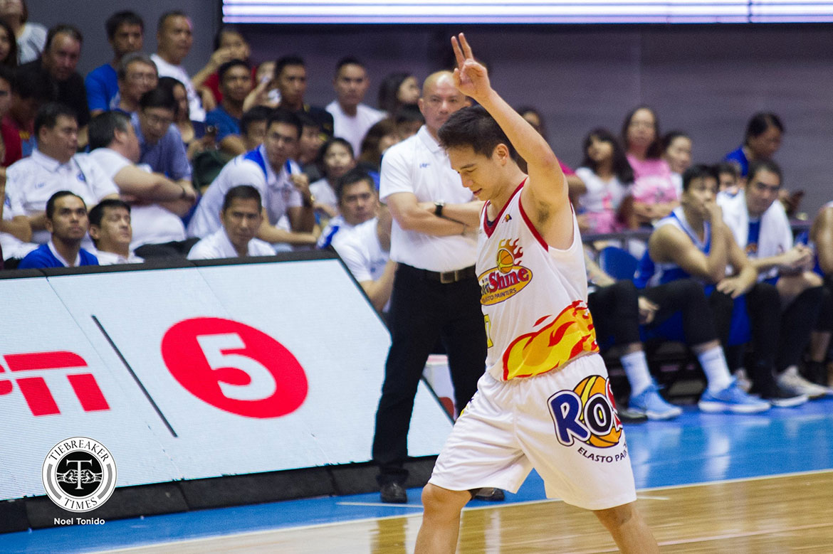 Tiebreaker Times Chris Tiu sums it up perfectly: 'I did what I could to help the team' Basketball News PBA  Rain or Shine Elasto Painters PBA Season 43 Chris Tiu 2018 PBA Governors Cup