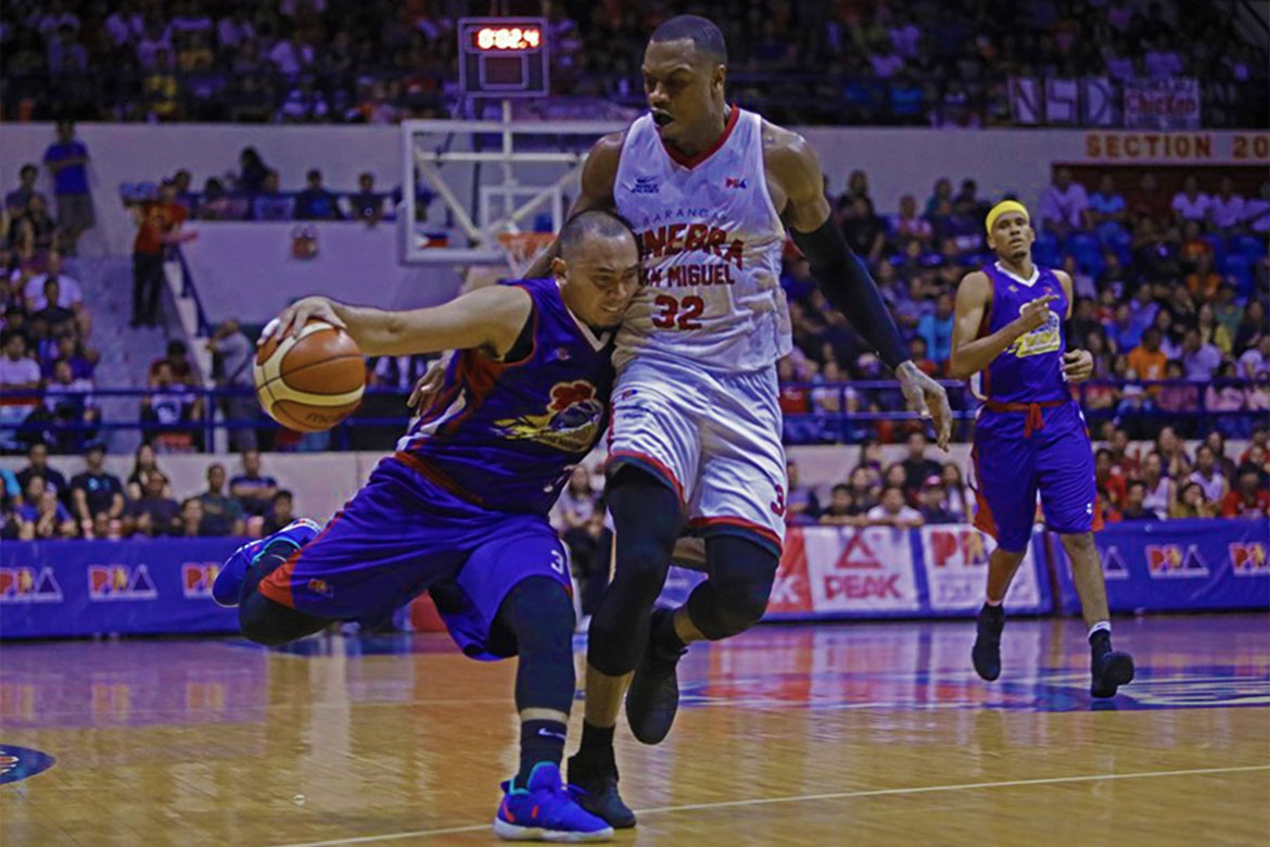 Tiebreaker Times Paul Lee, Hotshots flaunt battle cry in Game 1: 'Just keep believing' Basketball News PBA  PBA Season 43 Paul Lee Magnolia Hotshots 2018 PBA Governors Cup