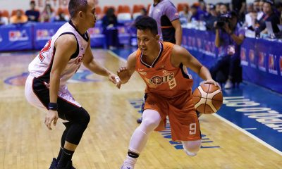 Tiebreaker Times Baser Amer starting to grow as Meralco's leader Basketball News PBA  PBA Season 43 Meralco Bolts Baser Amer 2018 PBA Governors Cup