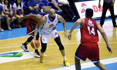 Tiebreaker Times Romeo Travis pulls off a Lebron James in Game 2 win Basketball News PBA  Romeo Travis PBA Season 43 Magnolia Hotshots 2018 PBA Governors Cup