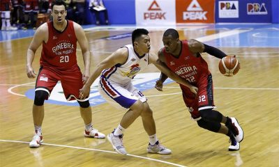 Tiebreaker Times Rome De La Rosa's goal is to limit Justin Brownlee as much as possible Basketball News PBA  Rome dela Rosa PBA Season 43 Magnolia Hothots 2018 PBA Governors Cup