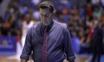 Tiebreaker Times Tim Cone takes blame for Ginebra's loss to San Miguel: 'That's on me' Basketball News PBA  Tim Cone PBA Season 44 Barangay Ginebra San Miguel 2019 PBA Philippine Cup