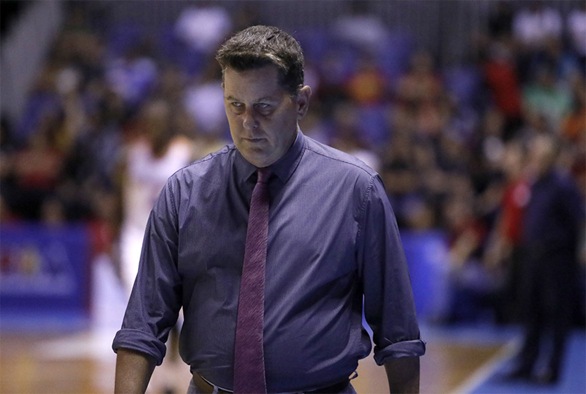 Tiebreaker Times Tim Cone chooses to stay silent after Game 2 ejection Basketball News PBA  Tim Cone PBA Season 43 Barangay Ginebra San Miguel 2018 PBA Governors Cup