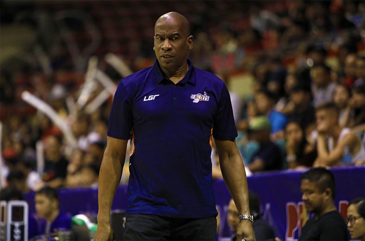 Tiebreaker Times Norman Black looking on how Meralco responds as Bolts back in do-or-die mode Basketball News PBA  PBA Season 43 Norman Black Meralco Bolts 2018 PBA Governors Cup