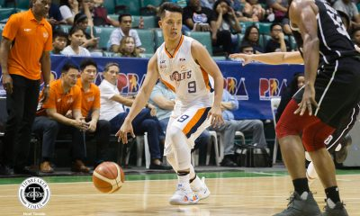Tiebreaker Times Despite heartbreaking end to Meralco's run, Baser Amer glad to have been part of the ride Basketball News PBA  PBA Season 43 Meralco Bolts Baser Amer 2018 PBA Governors Cup