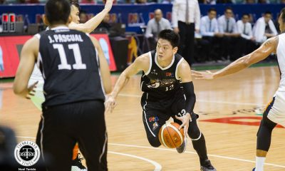Tiebreaker Times Jeron Teng takes dad Alvin's advice as he enters first Finals Basketball News PBA  PBA Season 43 Jeron Teng alaska acess 2018 PBA Governors Cup
