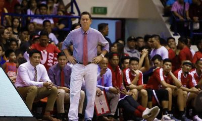 Tiebreaker Times Tim Cone has nothing but praises for Hotshots Basketball News PBA  Tim Cone PBA Season 43 Barangay Ginebra San Miguel 2018 PBA Governors Cup