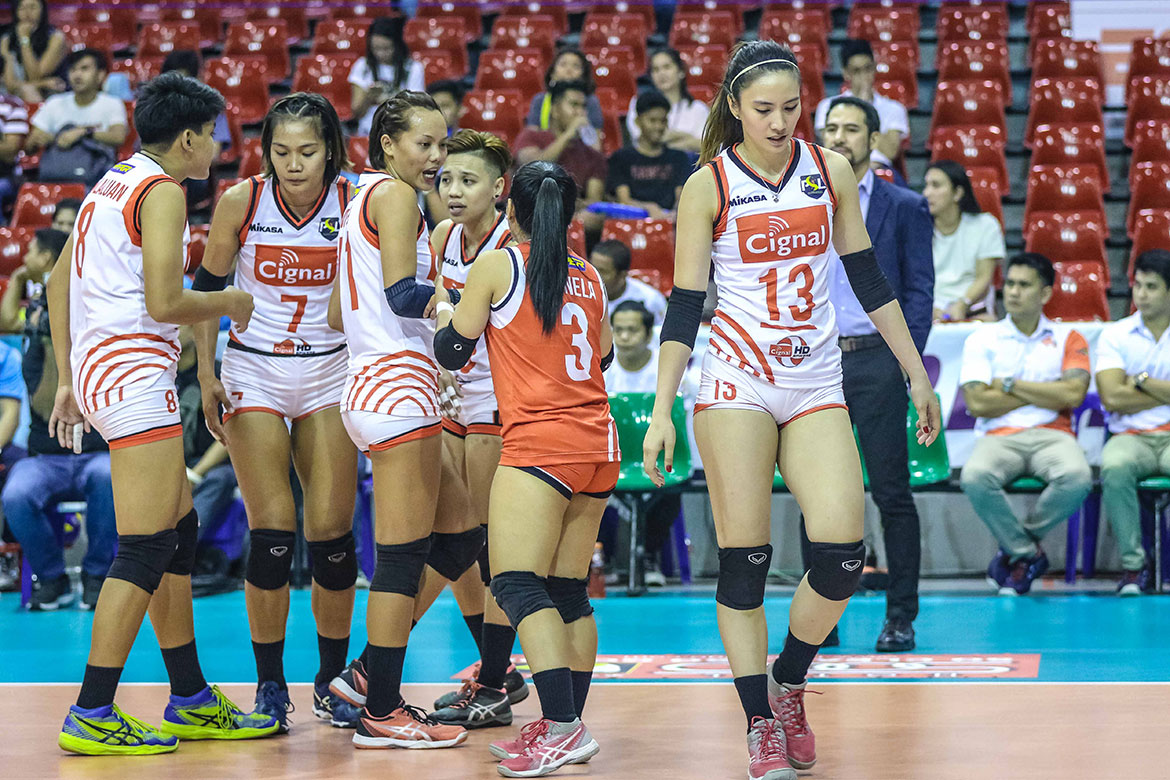 Tiebreaker Times Cignal HD survives highly-emotional five-setter against Cocolife News PSL Volleyball  Rachel Daquis Mylene Paat Moro Bransilav Kalei Mau Jeck Dionela Edgar Barroga Denden Lazaro Cocolife Asset Managers Cignal HD Spikers Axy Masangkay 2018 PSL Season 2018 PSL All Filipino Conference
