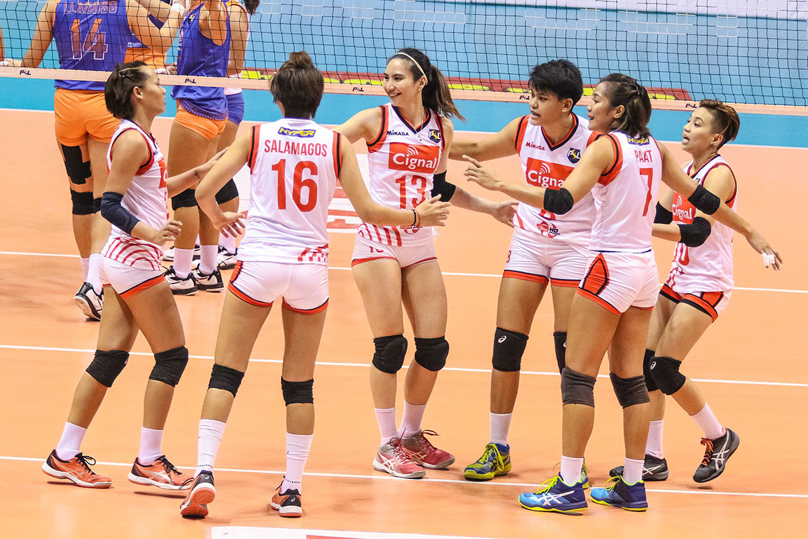 Tiebreaker Times Rachel Daquis always ready to be clutch News PSL Volleyball  Rachel Daquis Cignal HD Spikers 2018 PSL Season 2018 PSL All Filipino Conference