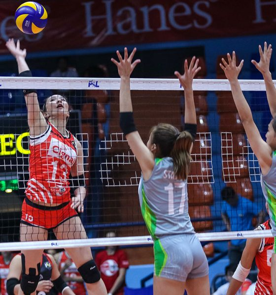 Tiebreaker Times Cignal HD overwhelms Smart for fourth win News PSL Volleyball  SMART Prepaid Giga Hitters Roger Gorayeb Rachel Daquis Mylene Paat Jeck Dionela Grethcel Soltones Edgar Barroga Cignal HD Spikers Acy Masangkay 2018 PSL Season 2018 PSL All Filipino Conference