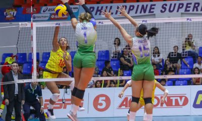 Tiebreaker Times F2 Logistics romps Cocolife for 6th win News PSL Volleyball  Ramil De Jesus Moro Branislav Michelle Morente Kim Fajardo Kalei Mau F2 Logistics Cargo Movers Dawn Macandili Cocolife-United VC Asset Managers Aby Marano 2018 PSL Season 2018 PSL All Filipino Conference