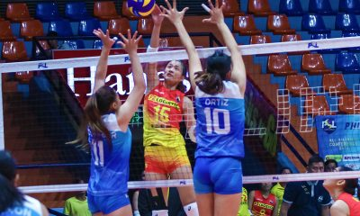 Tiebreaker Times Streak-Enders: F2 Logistics snaps out of funk, hands Foton first loss News PSL Volleyball  Shaya Adorador Ramil De Jesus Mina Aganon Majoy Baron Kim Fajardo Foton Blue Energy F2 Logistics Cargo Movers Dawn Macandili Ara Galang Aaron Velez 2018 PSL Season 2018 PSL All Filipino Conference