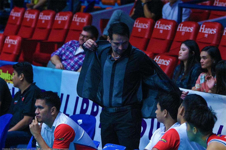 Tiebreaker Times Edgar Barroga resentful of actions in match against Foton News PSL Volleyball  Edgar Barroga Cignal HD Spikers 2018 PSL Season 2018 PSL All Filipino Conference