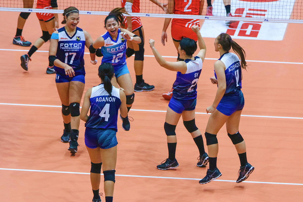 Tiebreaker Times CJ Rosario tallies career-high as Foton stays perfect after heated finish against Cignal HD News PSL Volleyball  Rachel Daquis Mylene Paat Mina Aganon Jen Reyes Gyzelle Sy Foton Tornadoes Edgar Barroga CJ Rosario Cignal HD Spikers Aaron Velez 2018 PSL Season 2018 PSL All Filipino Conference