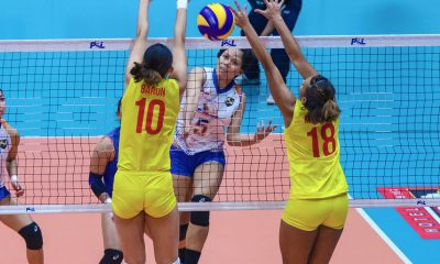 Tiebreaker Times Generika-Ayala takes down F2 Logistics for first time in franchise history News PSL Volleyball  Sherwin Meneses Ramil De Jesus Patty Orendain Micelle Morente Kath Arado Generika-Ayala Lifesavers F2 Logistics Cargo Movers Cha Cruz April Hingpit Angeli Araneta 2018 PSL Season 2018 PSL All Filipino Conference