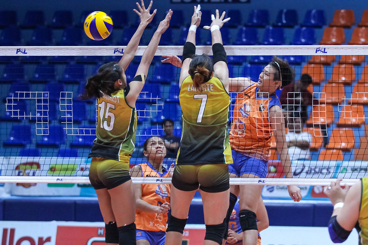 Tiebreaker Times Generika-Ayala nails second straight win at Sta. Lucia's expense News PSL Volleyball  Sta. Lucia Lady Realtors Sherwin Meneses Ria Meneses Patty Orendain Kath Arado Jho Maraguinot Generika-Ayala Lifesavers Angeli Araneta 2018 PSL Season 2018 PSL All Filipino Conference