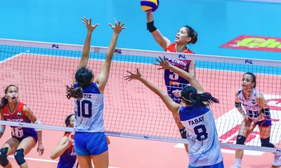 Tiebreaker Times Petron, Mika Reyes still looking to reach next gear, despite perfect record News PSL Volleyball  Petron Blaze Spikers Mika Reyes 2018 PSL Season 2018 PSL All Filipino Conference
