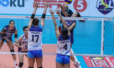 Tiebreaker Times Petron zooms to 8th straight, keeps Sta. Lucia struggling News PSL Volleyball  Sta. Lucia Lady Realtors Souzan Raslan Shaq delos Santos Rhea Dimaculangan Remy Palma Petron Blaze Spikers Jeanette Villareal George Pascua Buding Duremdes Aiza Maizo-Pontillas 2018 PSL Season 2018 PSL All Filipino Conference