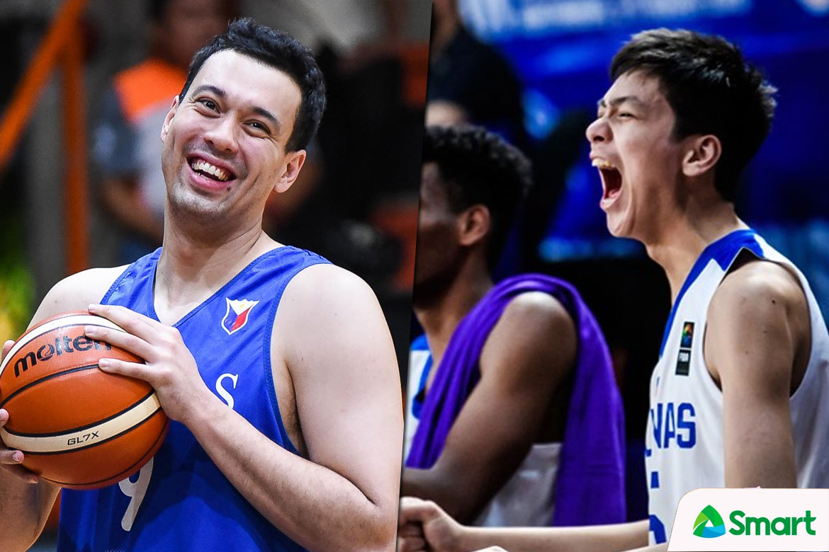 Tiebreaker Times Greg Slaughter eager to become one of Kai Sotto's mentors 2019 FIBA World Cup Qualifiers Basketball Gilas Pilipinas News  Kai Sotto Greg Slaughter 2019 FIBA World Cup Qualifiers
