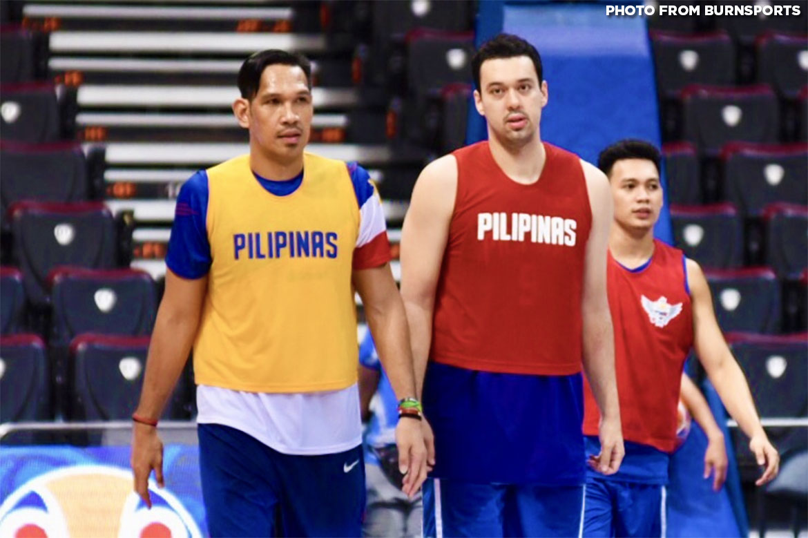 Tiebreaker Times 'Dream come true' as Greg Slaughter, June Mar Fajardo team up for Gilas 2019 FIBA World Cup Qualifiers Basketball Gilas Pilipinas  June Mar Fajardo Greg Slaughter Gilas Elite 2019 FIBA World Cup Qualifiers