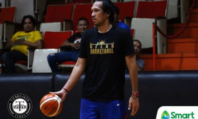 Tiebreaker Times June Mar Fajardo only makes quick appearance to SMB party: 'Duty calls' 2019 FIBA World Cup Qualifiers Basketball Gilas Pilipinas News  San Miguel Beermen June Mar Fajardo Gilas Pilipinas Men 2019 FIBA World Cup