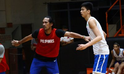 Tiebreaker Times Kai Sotto finally experiences life with the big boys 2019 FIBA World Cup Qualifiers Basketball Gilas Pilipinas News  Kai Sotto 2019 FIBA World Cup Qualifiers